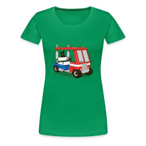 optimus golf cart - Women's Premium T-Shirt