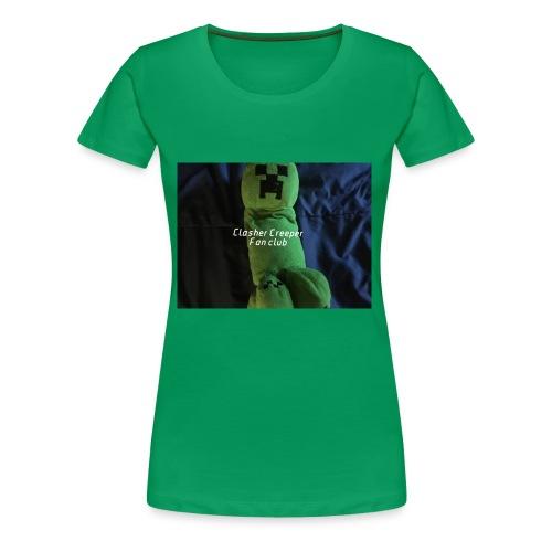 Clasher Creeper Fan Club - Women's Premium T-Shirt