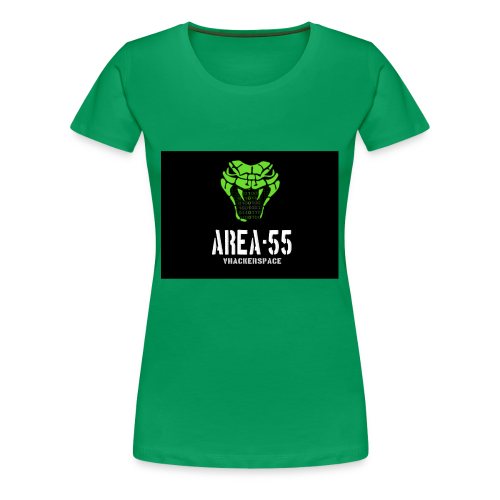 final_Area55_vertical1 - Women's Premium T-Shirt