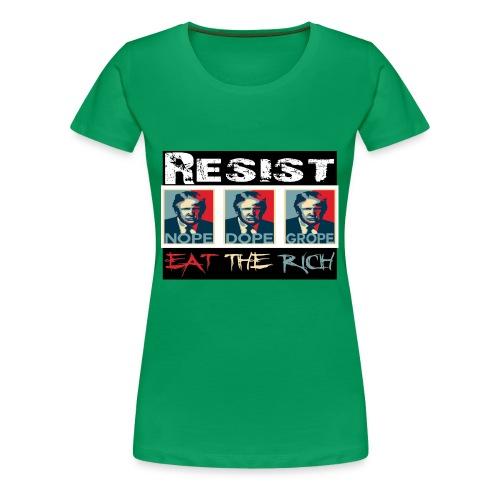 The Resistance - Women's Premium T-Shirt