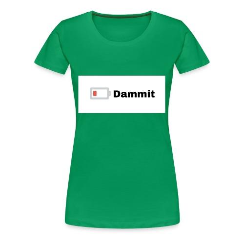 Low Battery Phone Case - Women's Premium T-Shirt