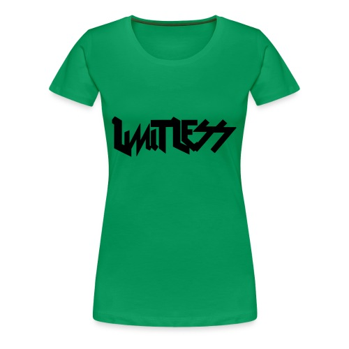 limitlesslogo tour inspired - Women's Premium T-Shirt