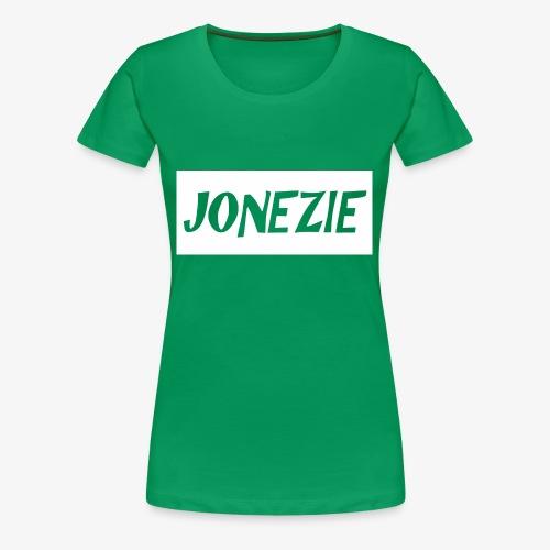 JONEZIE WHITE EDITION - Women's Premium T-Shirt