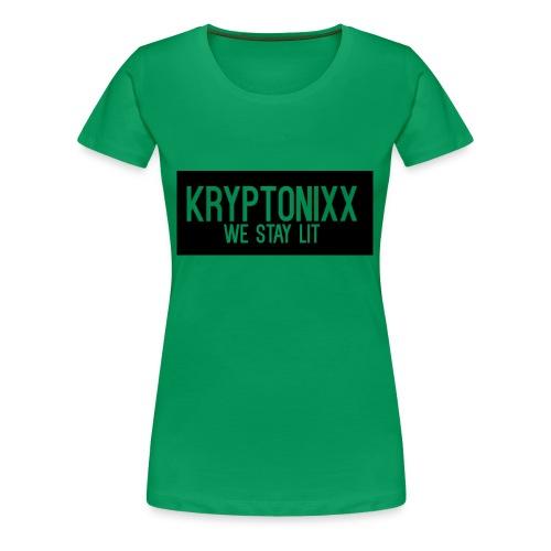 KryptoMot - Women's Premium T-Shirt
