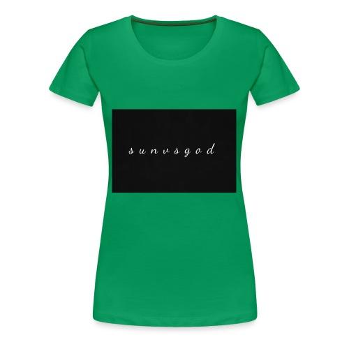 sunvsgod merch - Women's Premium T-Shirt