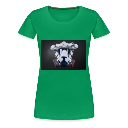 The Gasmask jorden - Women's Premium T-Shirt