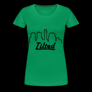 Tilted Towers - Women's Premium T-Shirt