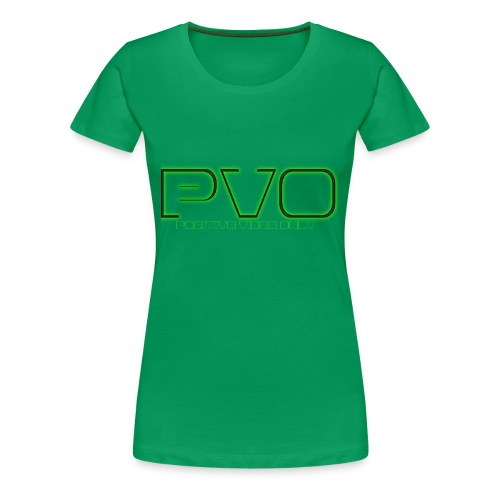 Positive Vibes Only - Women's Premium T-Shirt