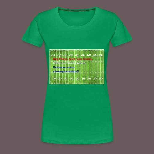 Football Championship Shirt - Women's Premium T-Shirt