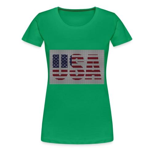 USA - Women's Premium T-Shirt