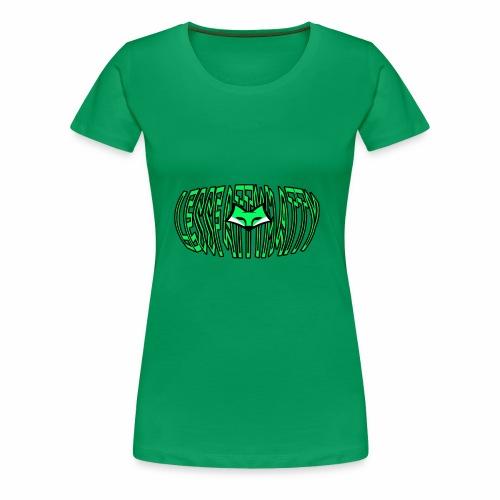 LFM Letter with FOX - Women's Premium T-Shirt