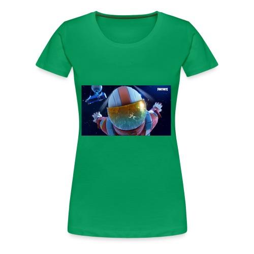 Fortnite Sky Diving - Women's Premium T-Shirt