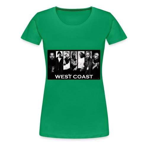 West Coast Rappers Design - Women's Premium T-Shirt