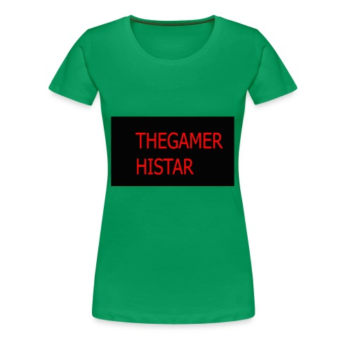 thegamer histar new logo - Women's Premium T-Shirt