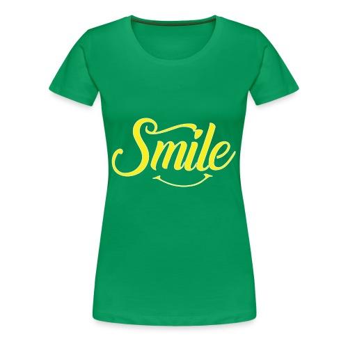 All Smiles - Women's Premium T-Shirt