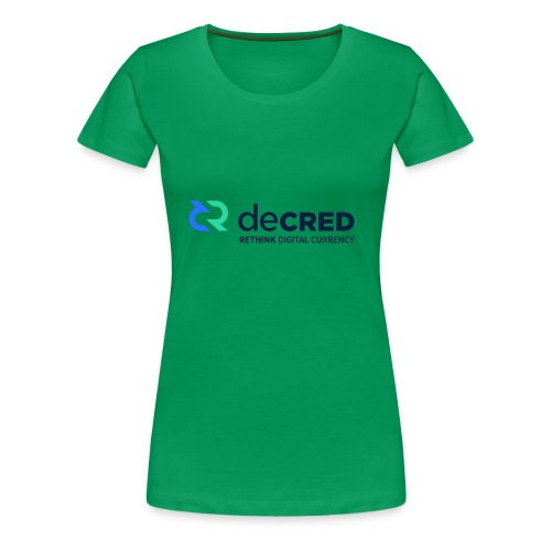 decred - Women's Premium T-Shirt