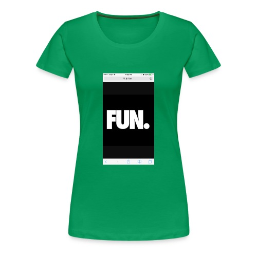 To fun - Women's Premium T-Shirt