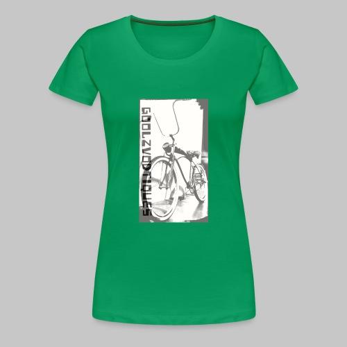 oskull pedalrat designed by goolzvodtiques - Women's Premium T-Shirt