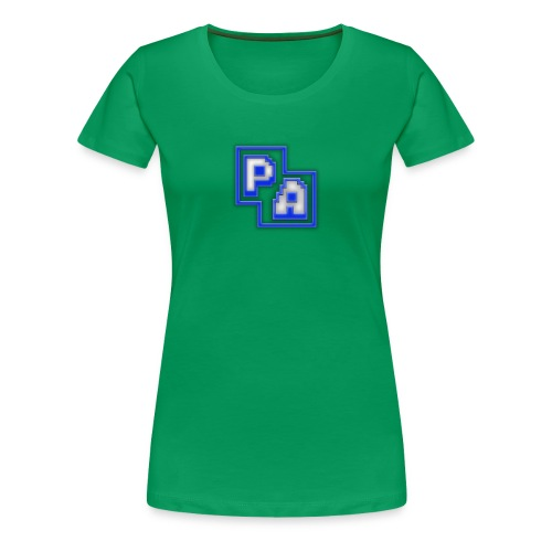 The Planet Awesome Logo! - Women's Premium T-Shirt