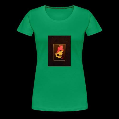 Dripping Skull - Women's Premium T-Shirt
