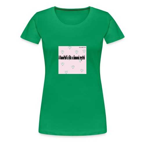 Diamond crystal Custom Design - Women's Premium T-Shirt