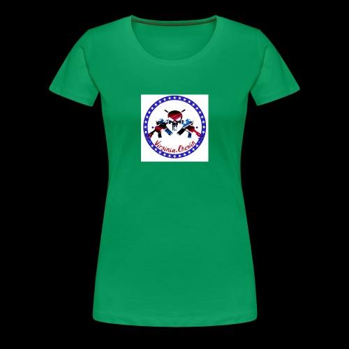 Virginia chewin' logo - Women's Premium T-Shirt