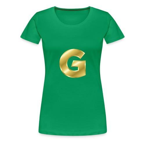 Golden G - Women's Premium T-Shirt
