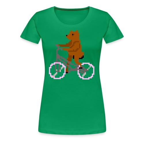 Bear Bike - Women's Premium T-Shirt