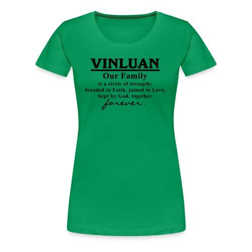 Vinluan Family 01 - Women's Premium T-Shirt