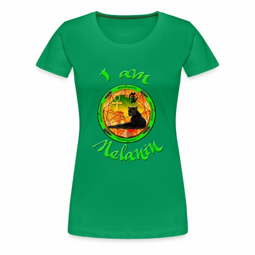 The Melanin Mandala - Women's Premium T-Shirt