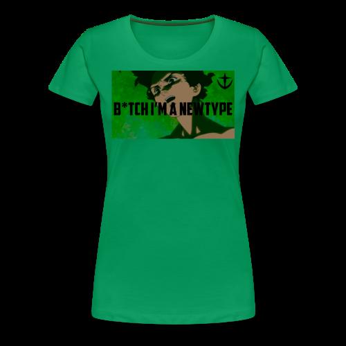 Bish I m a newtype - Women's Premium T-Shirt
