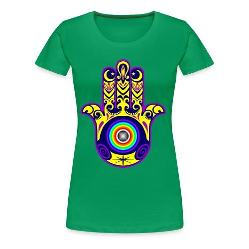 hamsa - Women's Premium T-Shirt