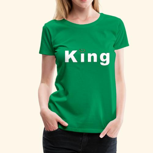 King of love - Women's Premium T-Shirt