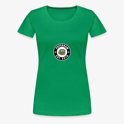 PepeGram - Women's Premium T-Shirt