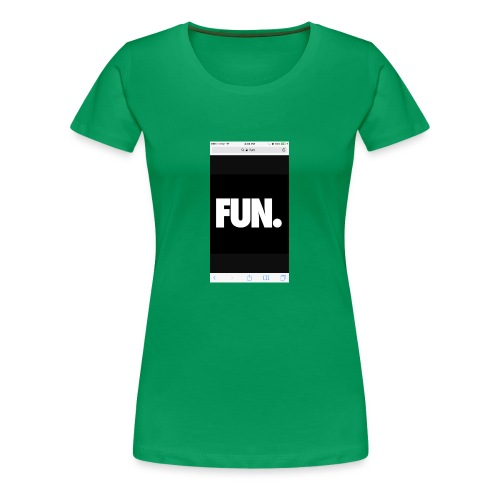 To fun - Women's Premium T-Shirt