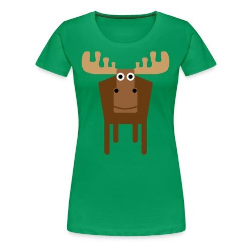 Moose - Women's Premium T-Shirt