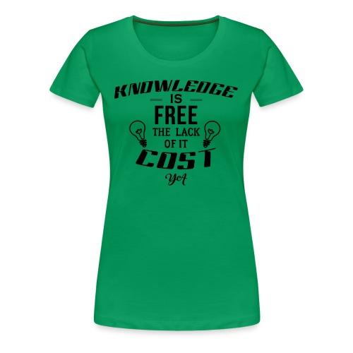 Power Up - Women's Premium T-Shirt