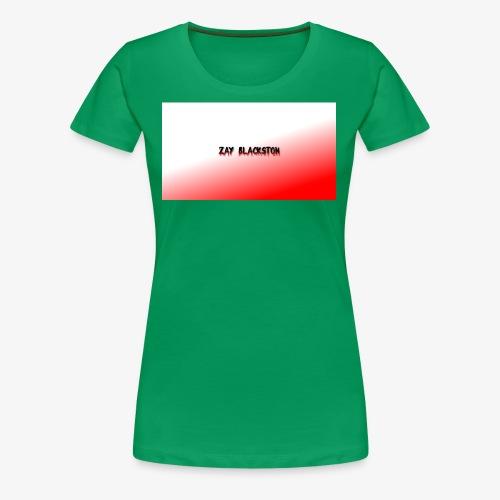zay x red,white - Women's Premium T-Shirt