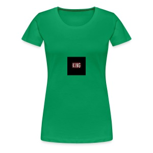 king - Women's Premium T-Shirt