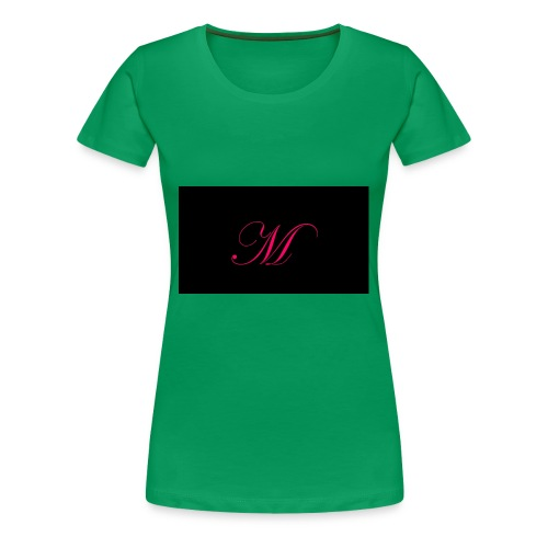 EDWARDIAN M MONOGRAM - Women's Premium T-Shirt