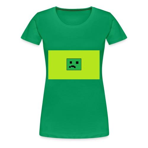 Creeper Head YT fan merch - Women's Premium T-Shirt