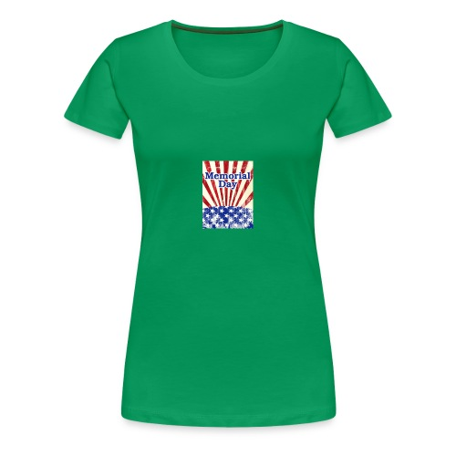 memorial day - Women's Premium T-Shirt
