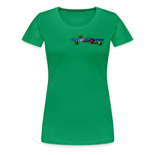 Crypto Force - Women's Premium T-Shirt