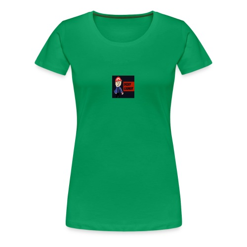 dqxygamer logo - Women's Premium T-Shirt