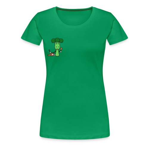 Carnivorous Broccoli - Women's Premium T-Shirt