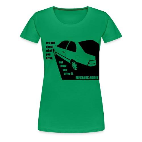 MekAddikCompact2 - Women's Premium T-Shirt