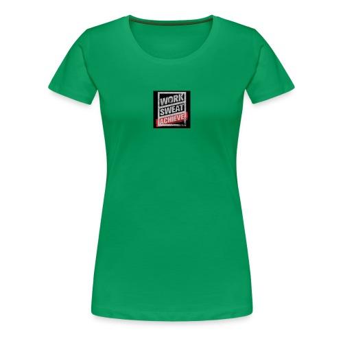 sweat shirt to achieve - Women's Premium T-Shirt