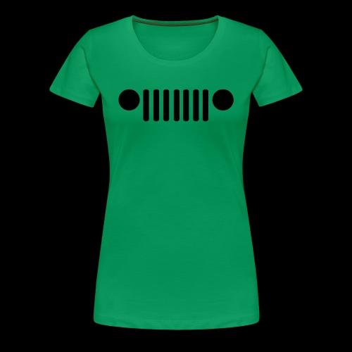 Jeep Grille - Women's Premium T-Shirt
