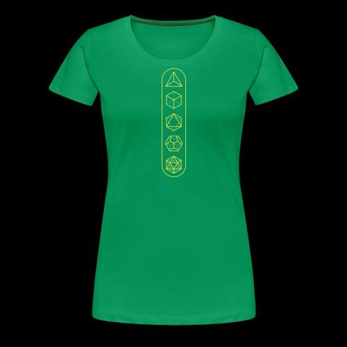 platonic-solids - Women's Premium T-Shirt
