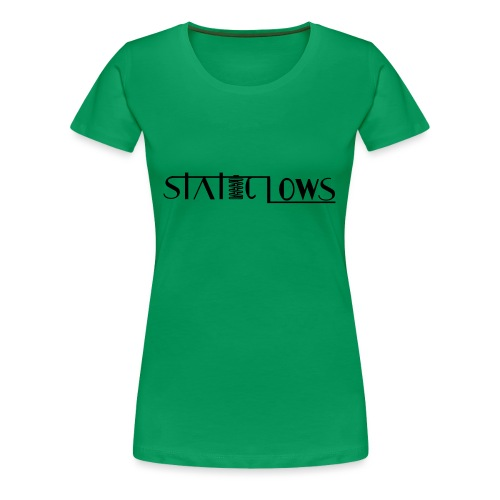 Staticlows - Women's Premium T-Shirt